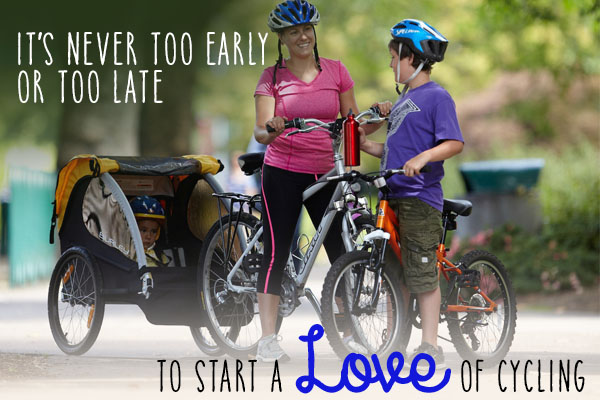 Start the love of cycling