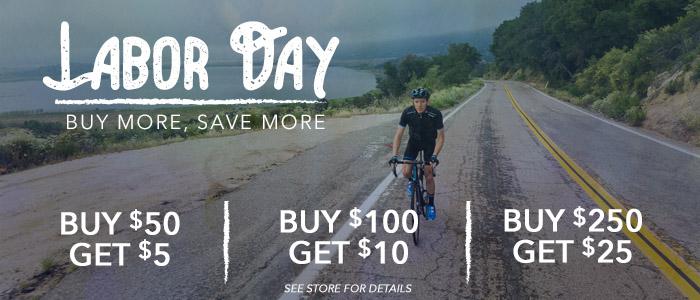 Labor Day Deals at B & L Bike Shop