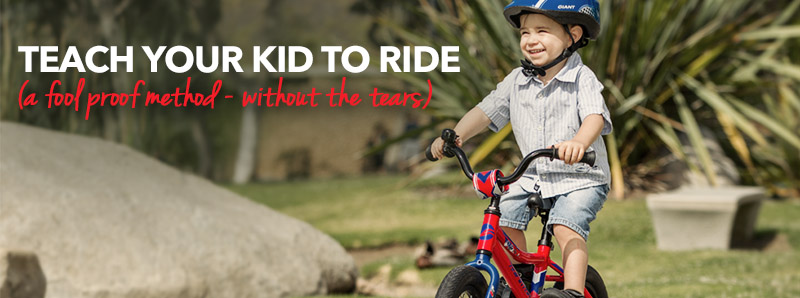 teach your kid to ride